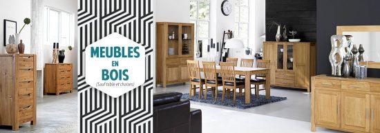 meubles en chêne massif