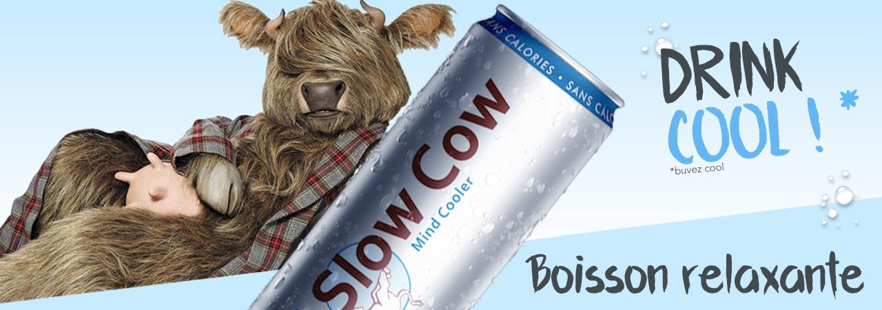 boisson relaxante Slow Cow