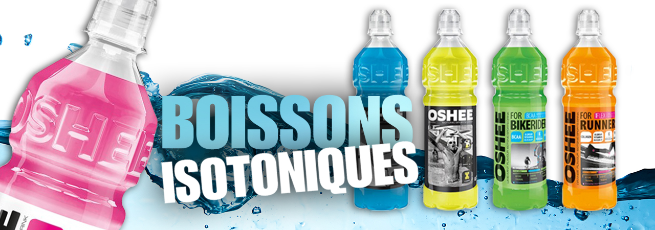 boissons isotoniques OSHEE