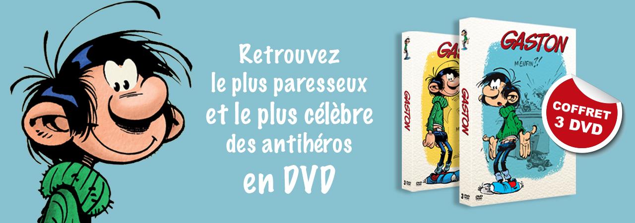 Coffrets DVD Gaston Lagaffe