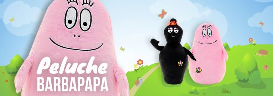 peluches barbapapa et barbamama