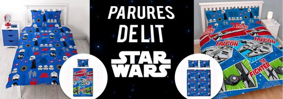 parures de lit star wars craft