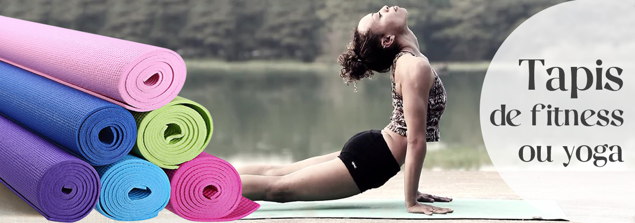 tapis de fitness ou yoga