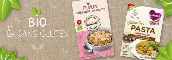 produits bio sans gluten