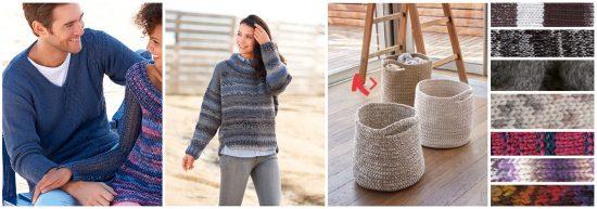 Fils à tricoter