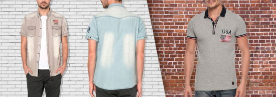 chemises et polos pour homme