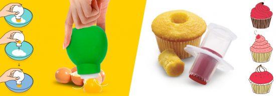 piston à cupcakes