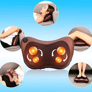coussin de massage une d tente musculaire chez soi. Black Bedroom Furniture Sets. Home Design Ideas