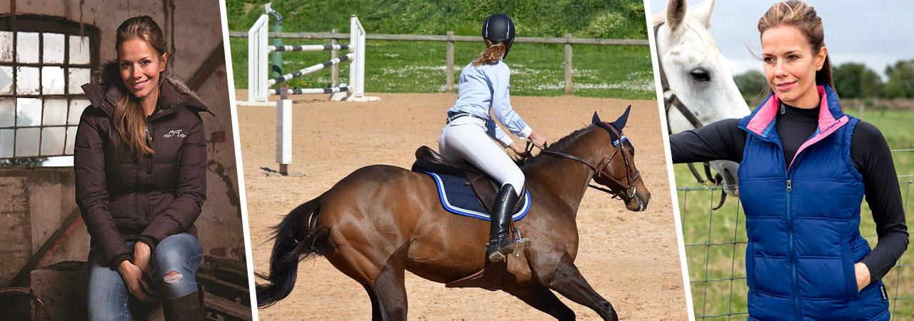 vêtements d'équitation pour femme