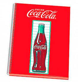 cahier bouteille coca-cola