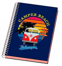 cahier camper beach