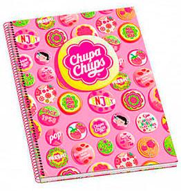 cahier chupa chups badges
