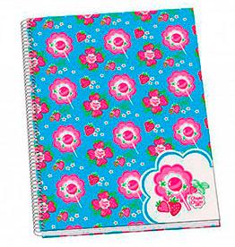 cahier Chupas Chups fleurs