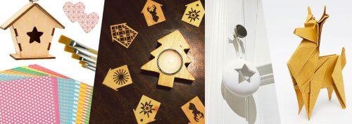 loisirs créatifs de décoration de Noël