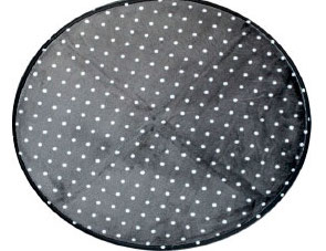 tapis à pois