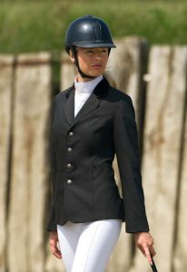 veste de concours d'équitation femme