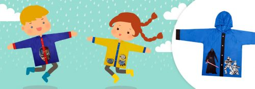 vestes de pluie pour enfant