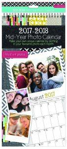 calendrier photos customisable