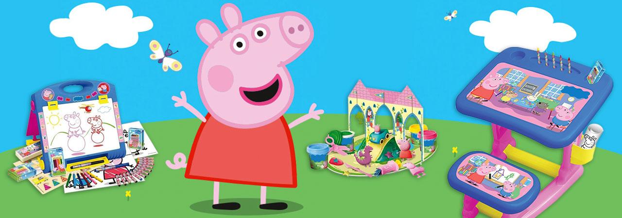 Des Jouets Peppa Pig Par Milliers Nozarrivages