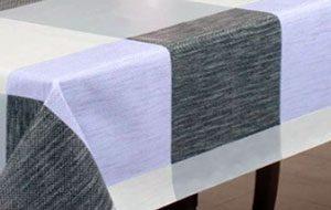 nappe PVC motifs carrés