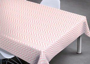 nappe PVC motifs chevrons