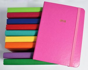 agenda couleur unie