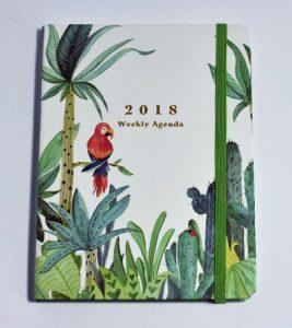 agenda perroquet