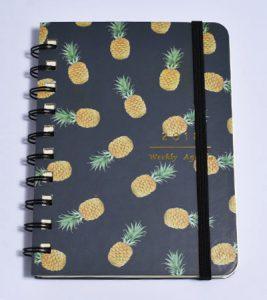 agendas couverture ananas