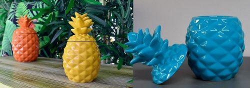 ananas en céramique bonbonnière