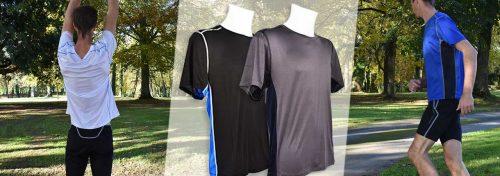 tee-shirts de running pour homme