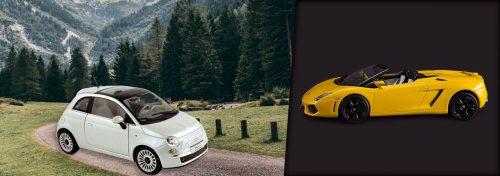 voitures miniatures de marques européennes