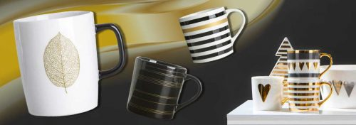 mugs en porcelaine