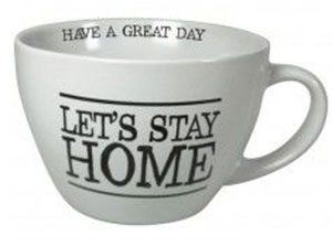 tasse let's stay home