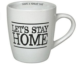 mug let's stay home