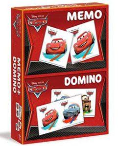 memo et domino Disney Cars