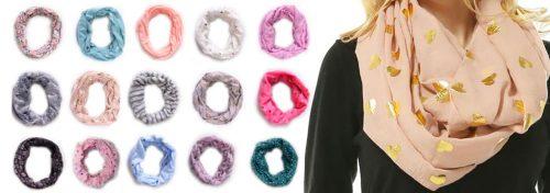 foulards et tours de cou