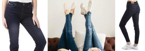 jeans slim d'une grande marque pour femme