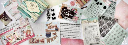 clear stamps et blocs de feuilles pour scrap
