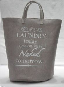 laundry today or naked tomorrow gris