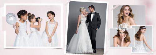 vêtements et accessoires de mariage