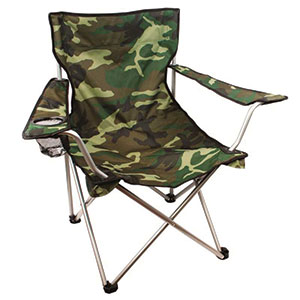 chaise de camping army