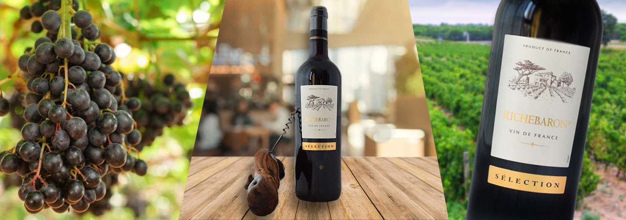 vin rouge Richebaron