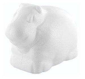 hippopotame en polystyrène