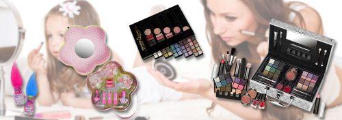 vernis et coffrets make-up pour enfant et adulte