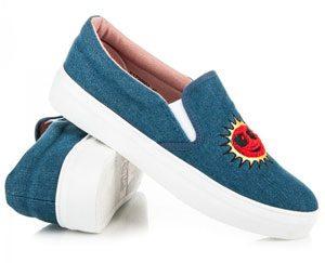 chaussure femme logo soleil