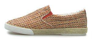 chaussure plate carreaux