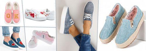 chaussures d'éte pour femmes et jeunes filles