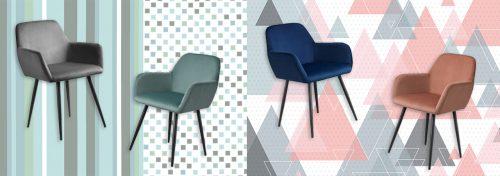 fauteuils en velours