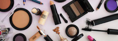 maquillage d'une jeune marque italienne
