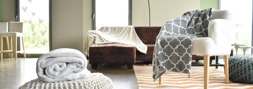 plaids flanelle 100 % polyester douceur et confort